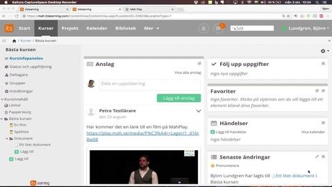 Thumbnail for entry Ställa in behörigheter
