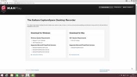 Thumbnail for entry Inspelning med CaptureSpace
