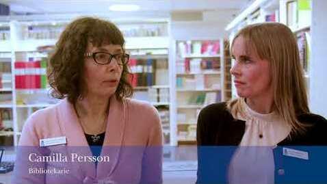 Thumbnail for entry Biblioteket på Sophiahemmet högskola