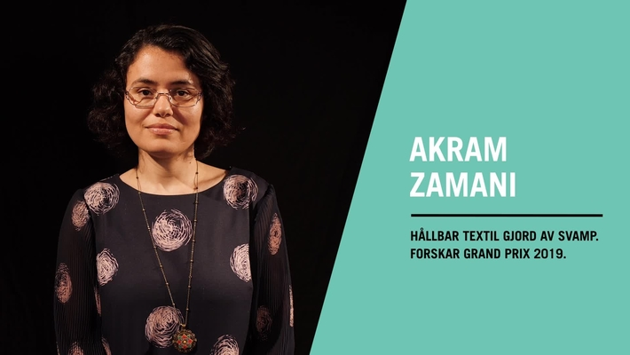 Akram Zamani vinnare av Forskar Grand Prix 2019