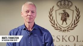 Miniatyr för inlägg Mats Tinnsten Ny rektor 2019