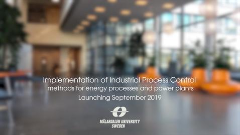 Miniatyr för inlägg Implementation of Industrial Process Control
