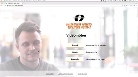 Miniatyr för inlägg Skapa ett återkommande videomöte i Zoom