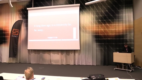 Thumbnail for entry Rapport om tekniska ref-gruppens vidare arbete - Anders Nilsson, Umeå Universitet