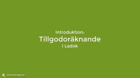 Miniatyr för inlägg Introduktion: Tillgodoräknande i Ladok